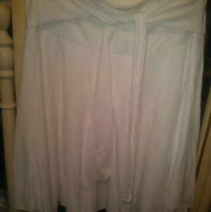 No Boundaries white cotton skirt Sz L